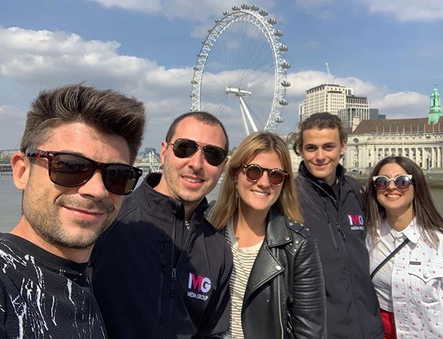 Our media team can't wait to spend another wonderful day with @luca_and_katy exploring London and @ecenglish #media #influencer #intled