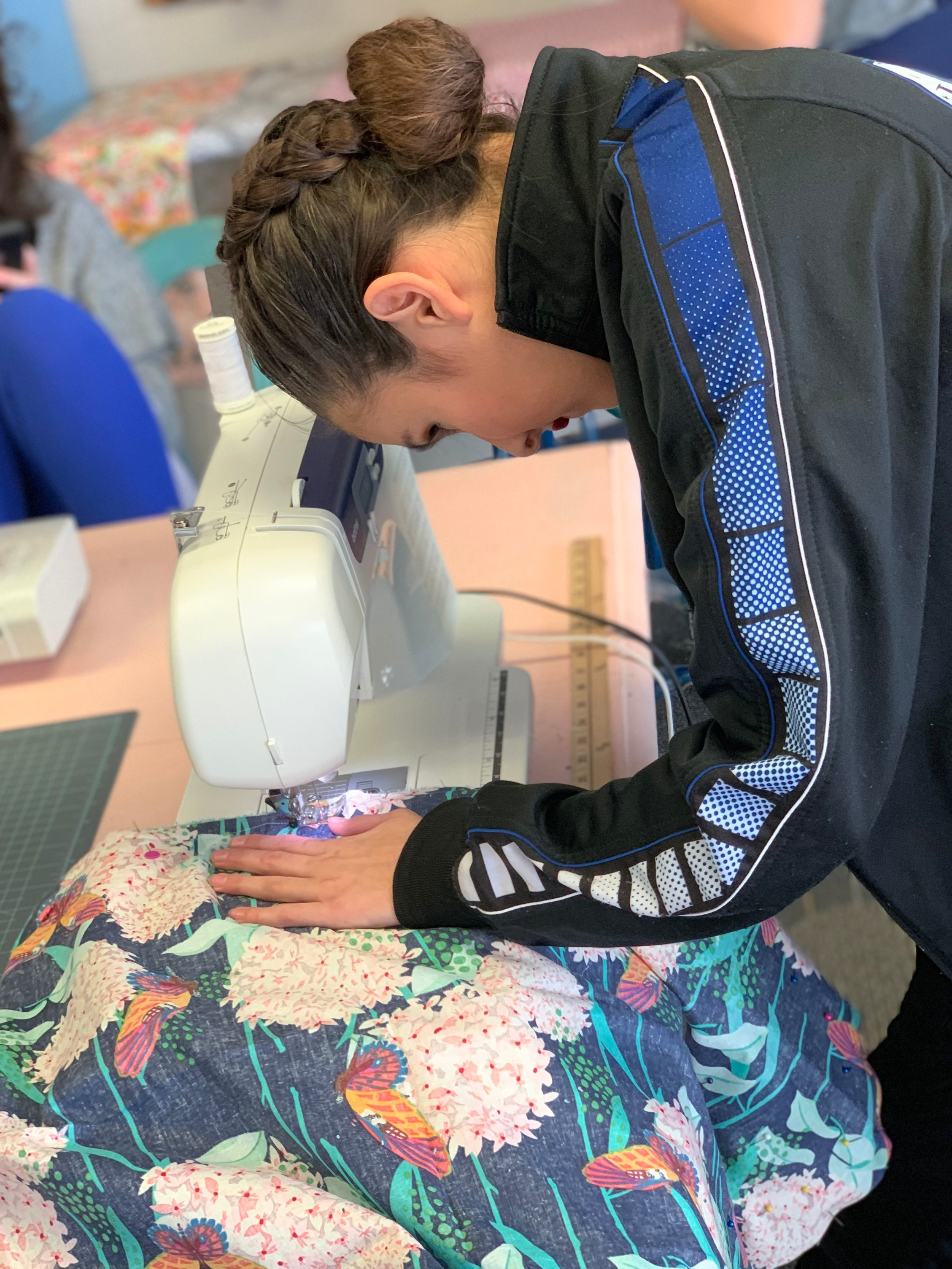 Sewcial Initiative - Each month we pick a new local charity that can benefit from our sewing gifts. There are several classes dedicated to creating these items.