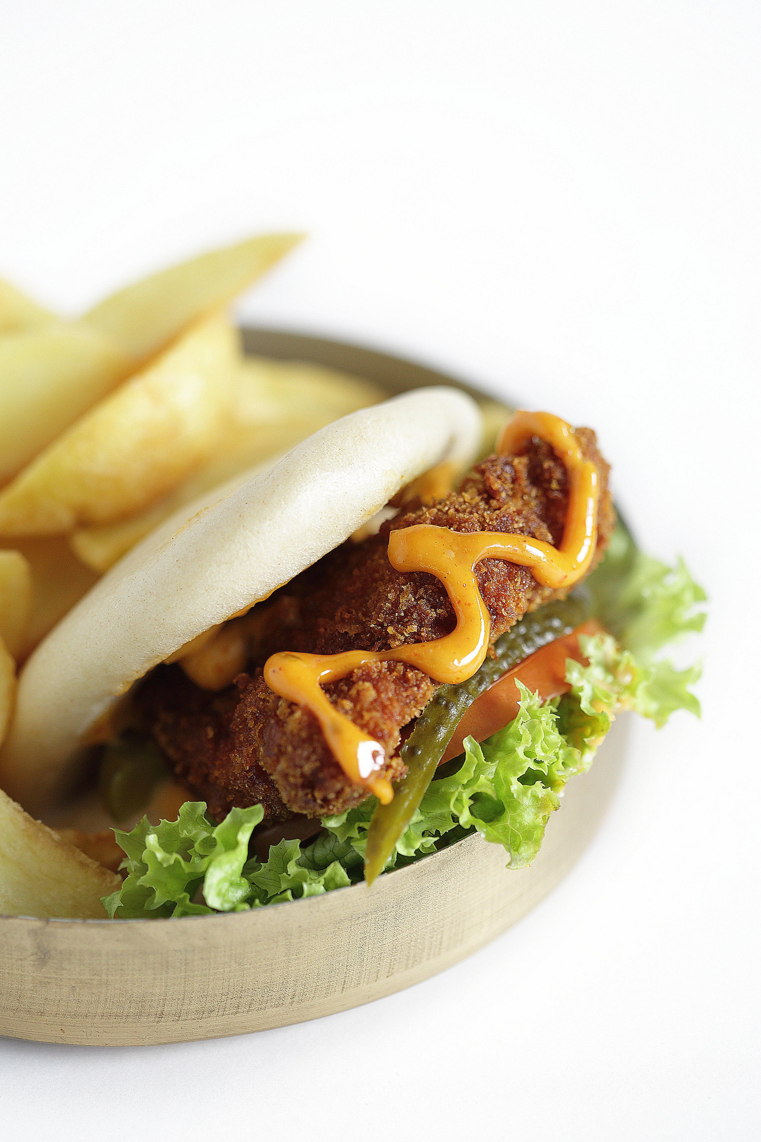 CHOOSE YOUR FILLING - Falafel (VG) Tuna Mayo Vegan (VG) Fried Chicken CHICKEN SHISHFried Cod Pulled Pork Pulled Lamb Burger Pulled Beef Duck Confit Smoked Salmon
