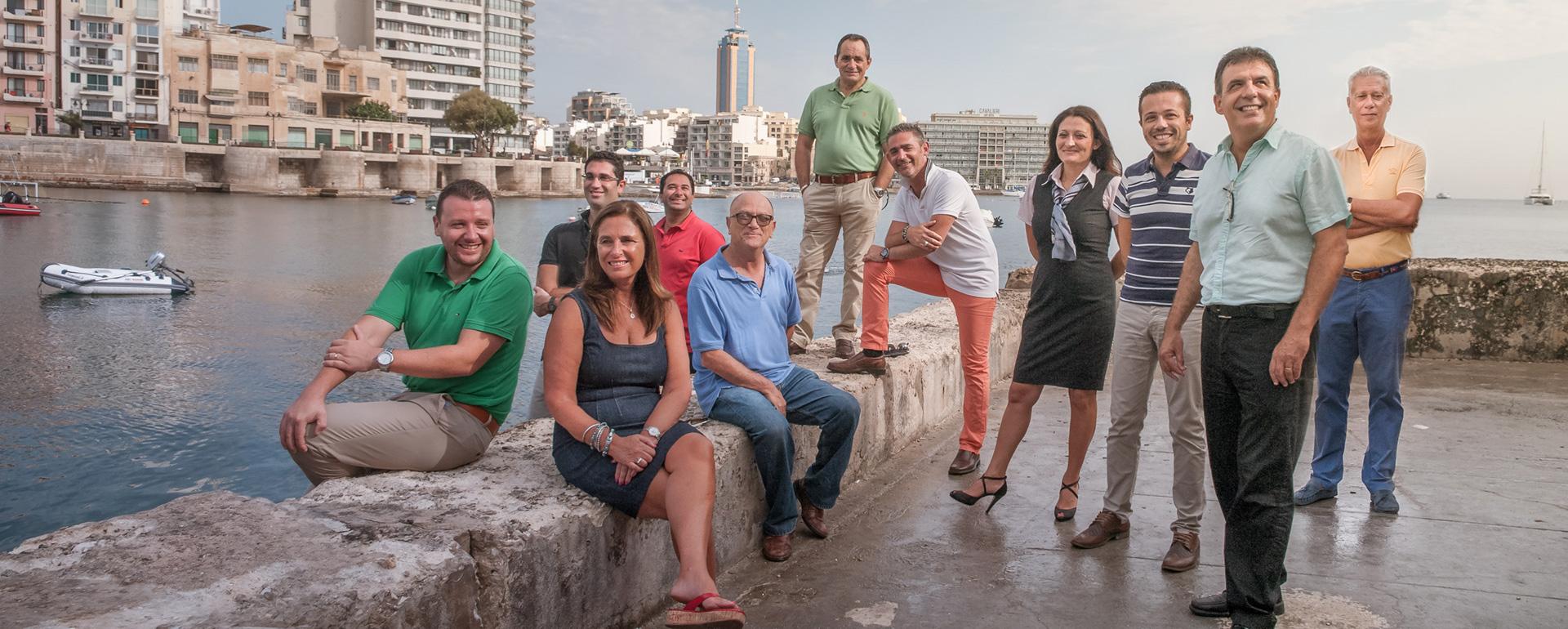 Das Management-Team von Robert Arrigo & Sons