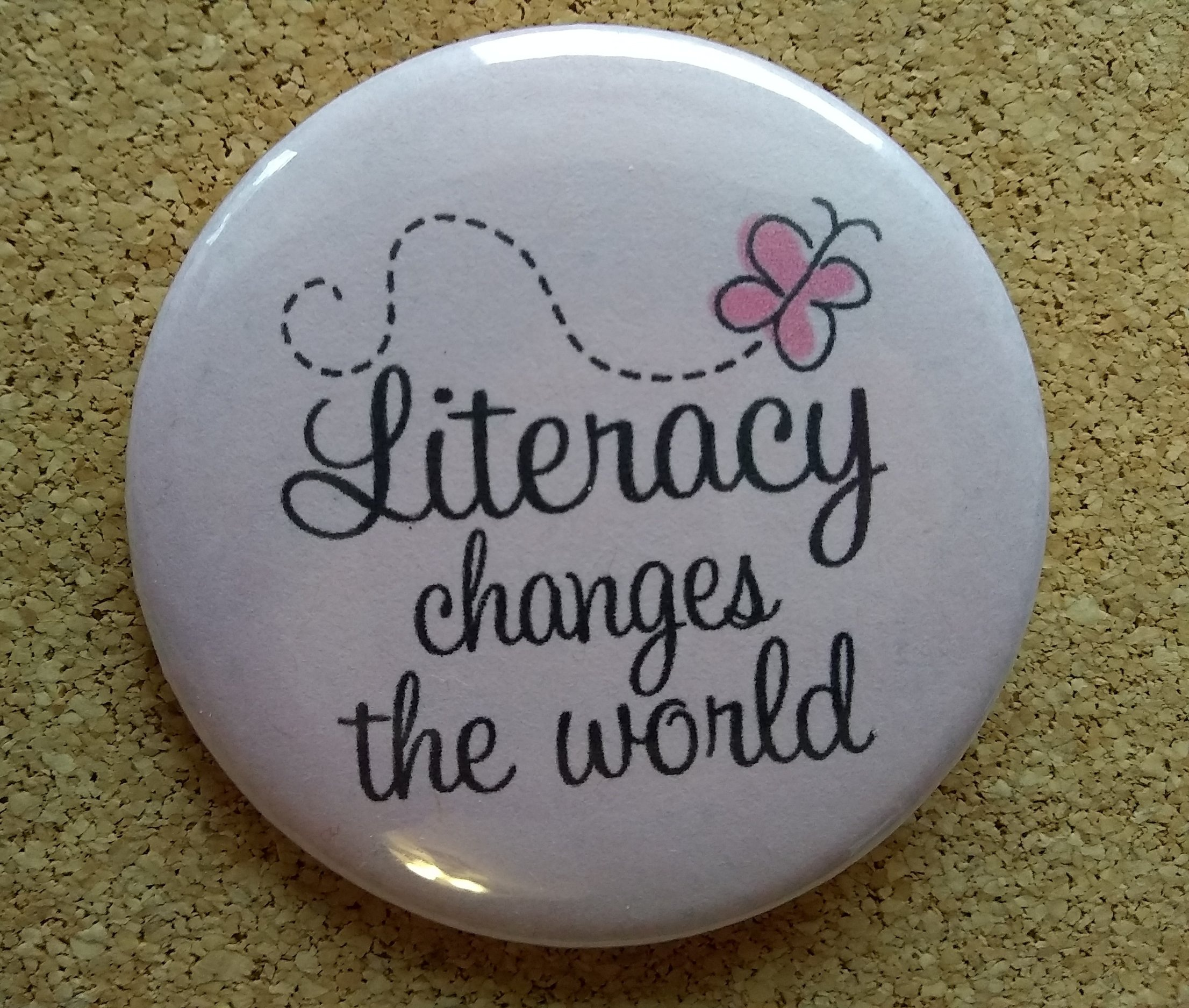 Literacy changes the world.