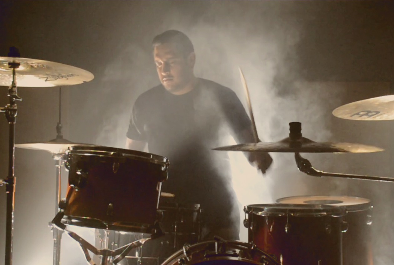 Jeff Bononcini | Drums - I grew up in San Antonio, Texas. I was attracted to drums since I was 5 or 6. My uncle used to play and I would cry if he didn't let me sit in the throne or mess around. Drums has always been an outlet, something I can do myself, to push myself and see where I can go. My high school band director was my biggest influence. My drive is not fame, I just want drums to be a part of my life until I die.