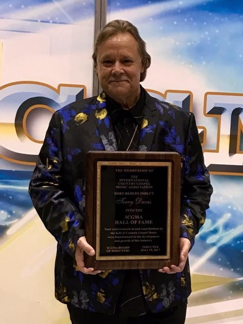 2017 Texoma Gospel Music Association Christian Country Male Artist of the Year -