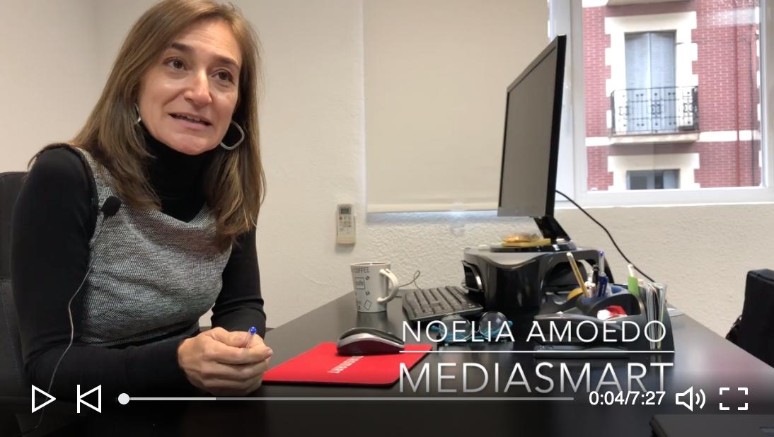 Noelia Amoedo, CEO de Mediasmart - Noelia Amoedo, CEO de Mediasmart habla en este video para FaqFraud sobre cómo combatir el fraude en atribución para programática en móvil.
