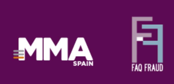 """MMA Spain y FaqFraud firman un acuerdo de colaboración estratégica - 23/11/2018. Comunicae. La colaboración, fruto de la actividad durante este año en distintos encuentros como el foro anual de MMA Spain PureMobile y el evento conjunto titulado """"Anatomía del Fraude Publicitario Digital"""", llevado a cabo en Madrid el pasado mes y el próximo día 27 de noviembre en Barcelona, permitirá emprender iniciativas para proporcionar el conocimiento necesario sobre esta lacra y cómo combatirla para todo el ecosistema de la industria publicitaria (anunciantes, agencias, medios y desarrolladores tecnológicos)."""