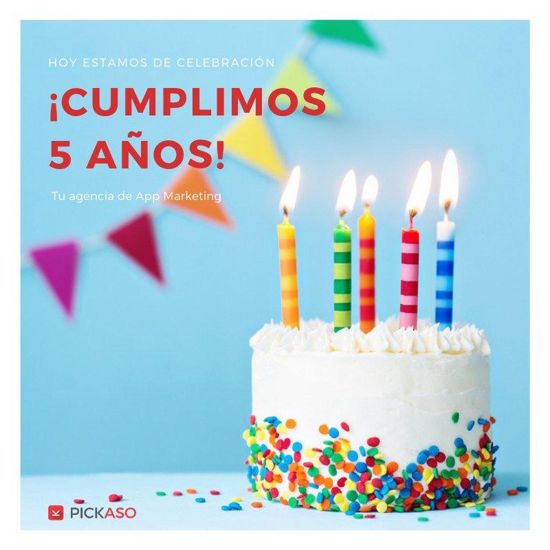 PickASO cumple 5 años, ¡Felicidades! - PickASO, la empresa con sede en Barcelona, especialista en estrategias de Growth para Apps Móviles y ASO, fundada por Daniel Peris y Miriam Peláez, cumple 5 años. ¡ Muchísimas felicidades a todo el equipo!