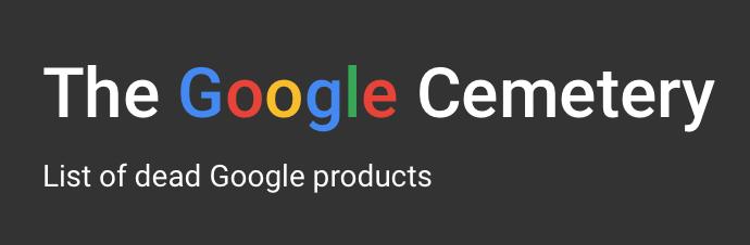 """El Cementerio de Google - 6/12/2018. Las grandes empresas no siempre triunfan a la primera, ni siempre lo hacen con un solo producto. En este sentido, Google si bien es conocido por todo el mundo por su buscador, obtiene el 98% de sus ingresos gracias a la publicidad, pero en sus ya 20 años de vida, ha lanzado y cerrado nada más y nada menos que 48 productos, como por ejemplo: Google+, Google Talk o Picasa. Un geek ha recopilado en una web el """"Cementerio de Google""""."""