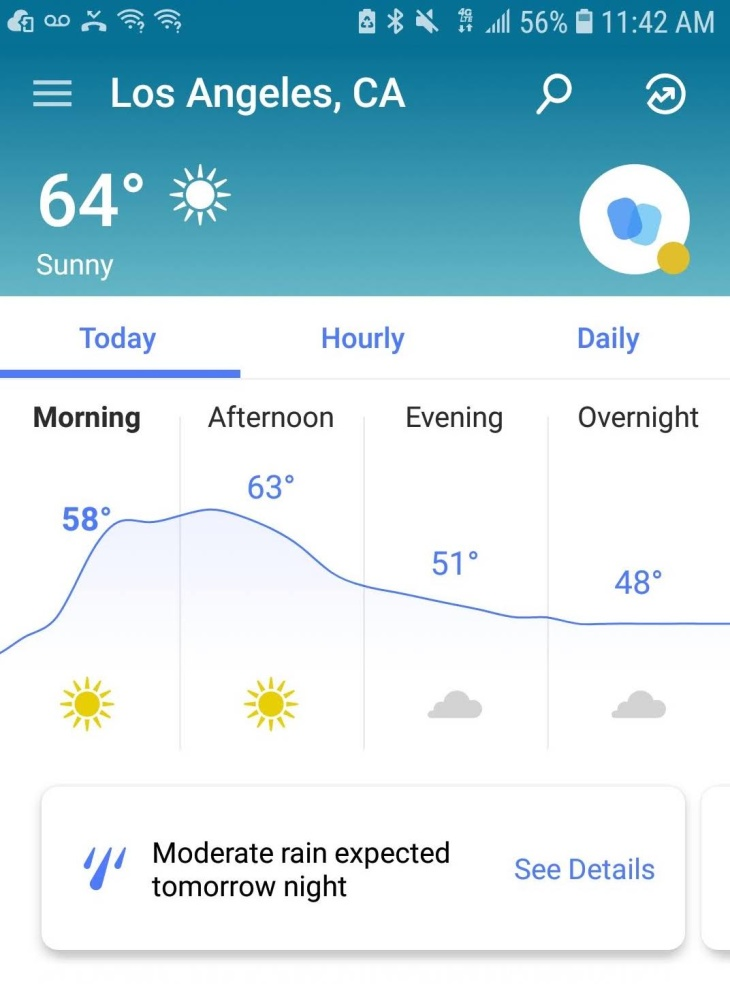 """Los Angeles demanda a la App """"The Weather Channel"""" por vender datos de ubicación de usuarios - 4/1/2019. La App """"The Weather Channel"""", que es propiedad de una subsidiaria de IBM, ha estado vendiendo los datos de ubicación de los usuarios con fines de lucro a empresas de terceros sin el conocimiento de los usuarios. En respuesta, la ciudad de L.A. ha presentado una demanda contra TWC Products and Technology, LLC."""