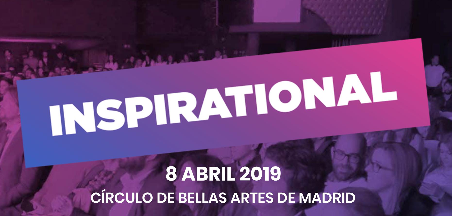 IAB Spain presenta la XII edición del Festival Inspirational '19 - 16/1/2019. Inspirational'19, que cumple su XII edición, presenta importantes novedades como la inclusión de nuevos premios que reconocerán el talento e innovación en categorías como Data, Estrategia de influencia, Digital Craft y Producción Audiovisual Digital, reflejando así la realidad actual de la Industria, y de su impacto en las marcas y los consumidores.