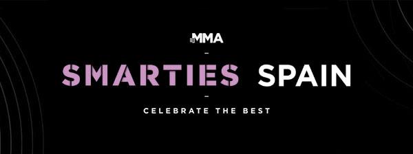 Save the date. Premios Smarties MMA - 18/1/2019. MMA Spain. El 5 de Marzo es la fecha límite para la inscripción de campañas tanto a nivel local como Global, por continente y país para los Premios Smarties de la MMA.