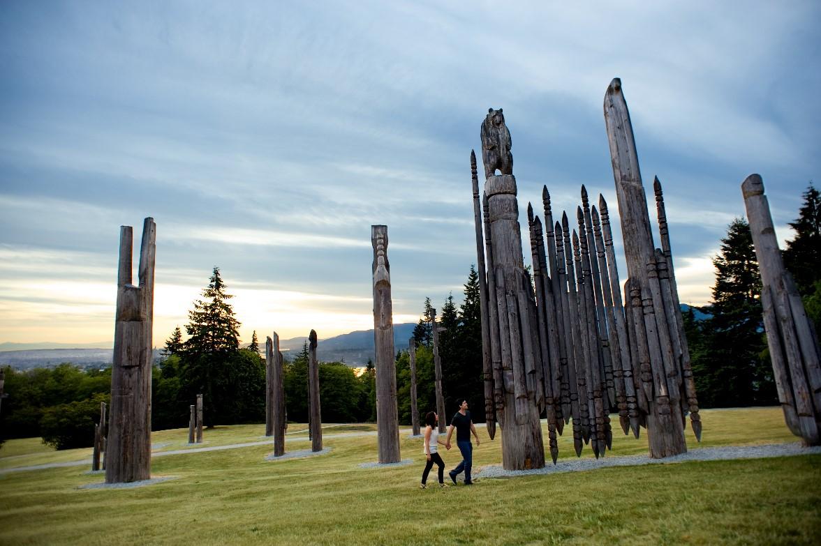 Burnaby Mountain Park-Playground of the Gods