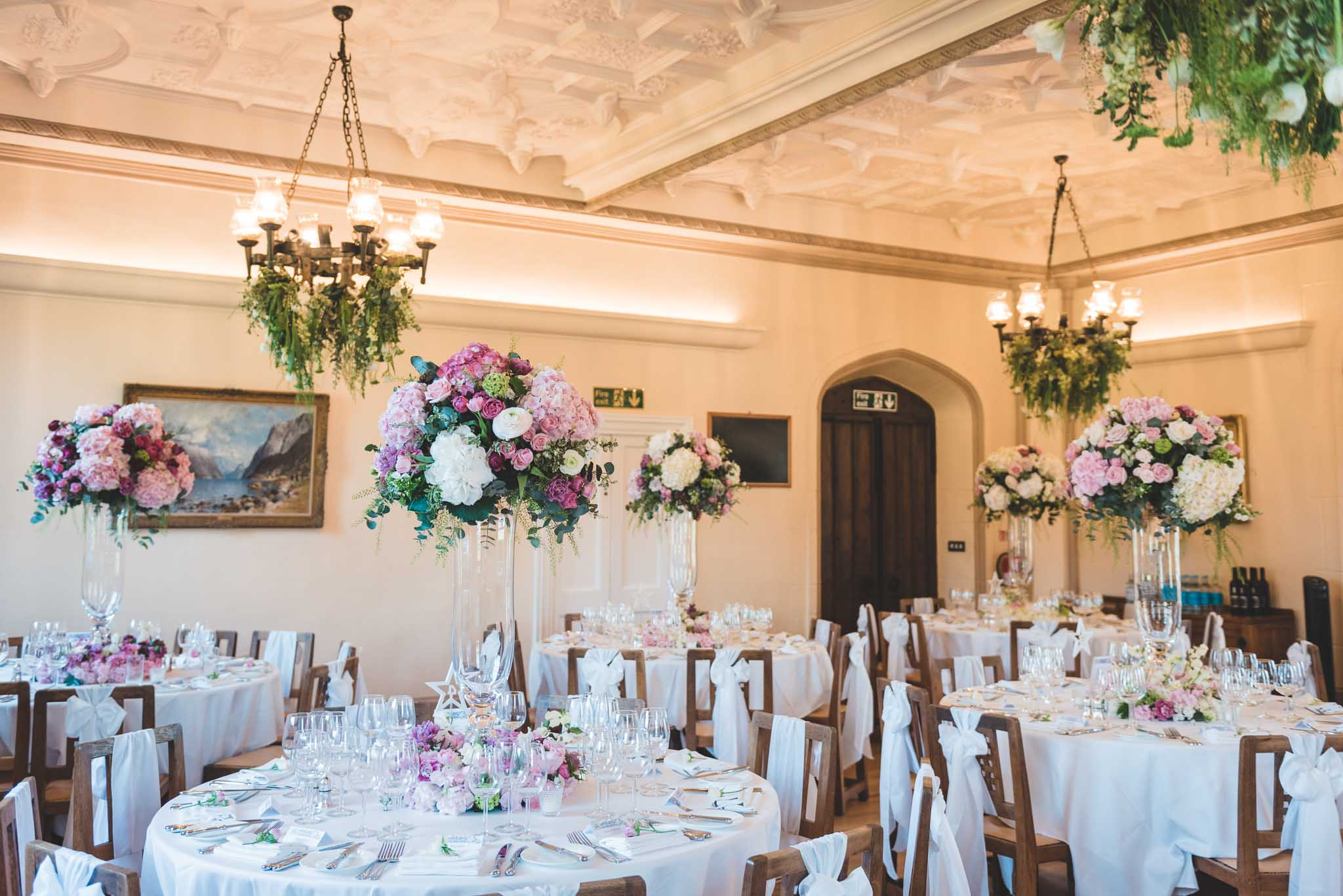 Leafy Couture at Denton Hall. Photography:  Boho Chic Weddings