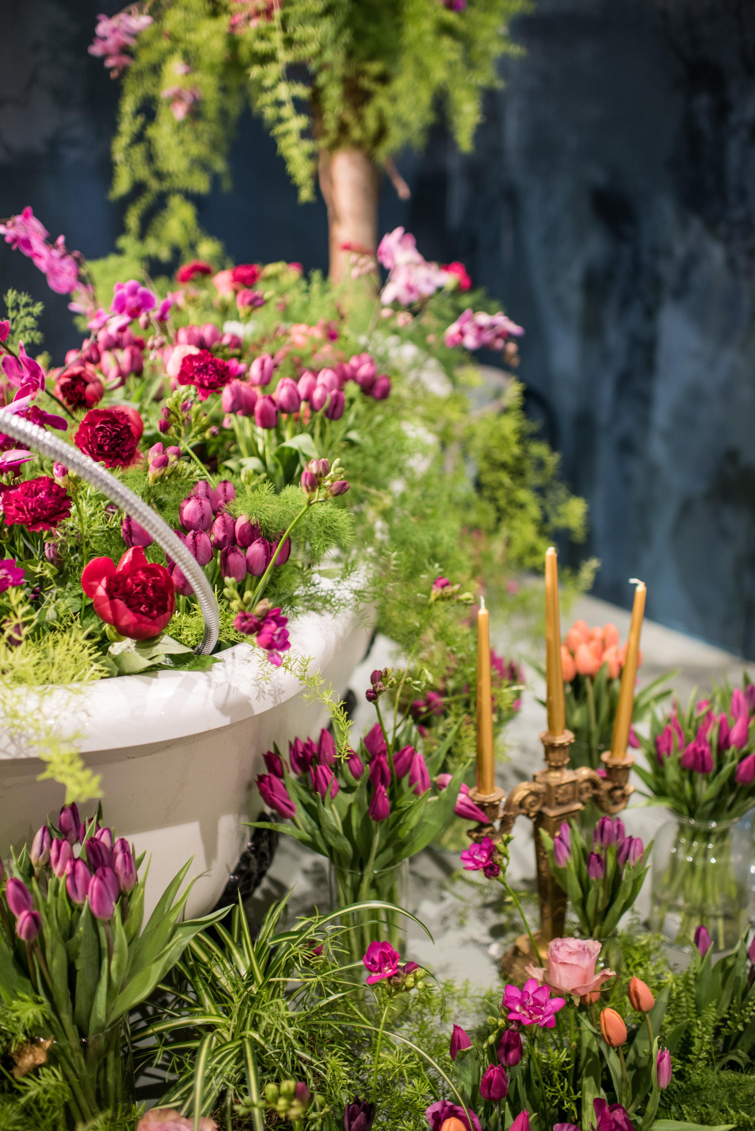 Leafy Couture - Yorkshire Wedding Florists - Styling - Harrogate Flower Show - Bath of Tulips - Smith & Munson.jpg