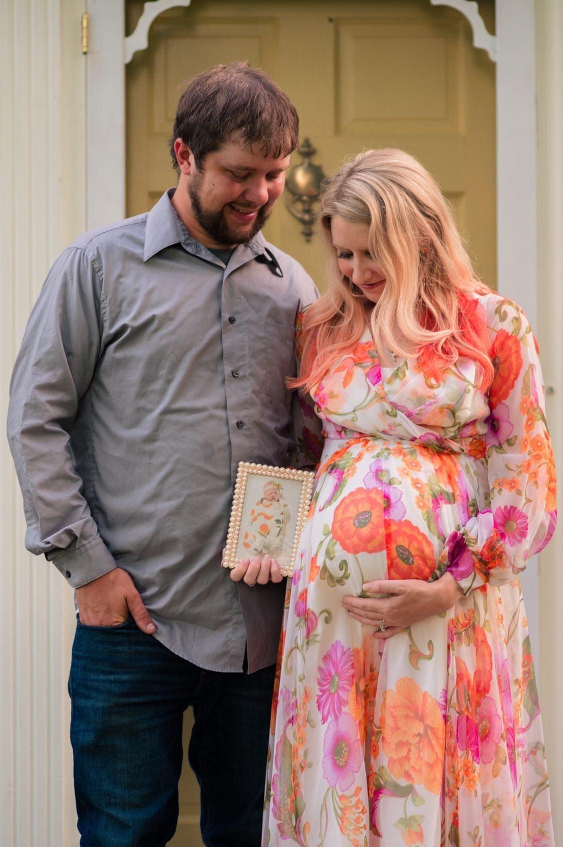 Stillbirth pregnancy after loss