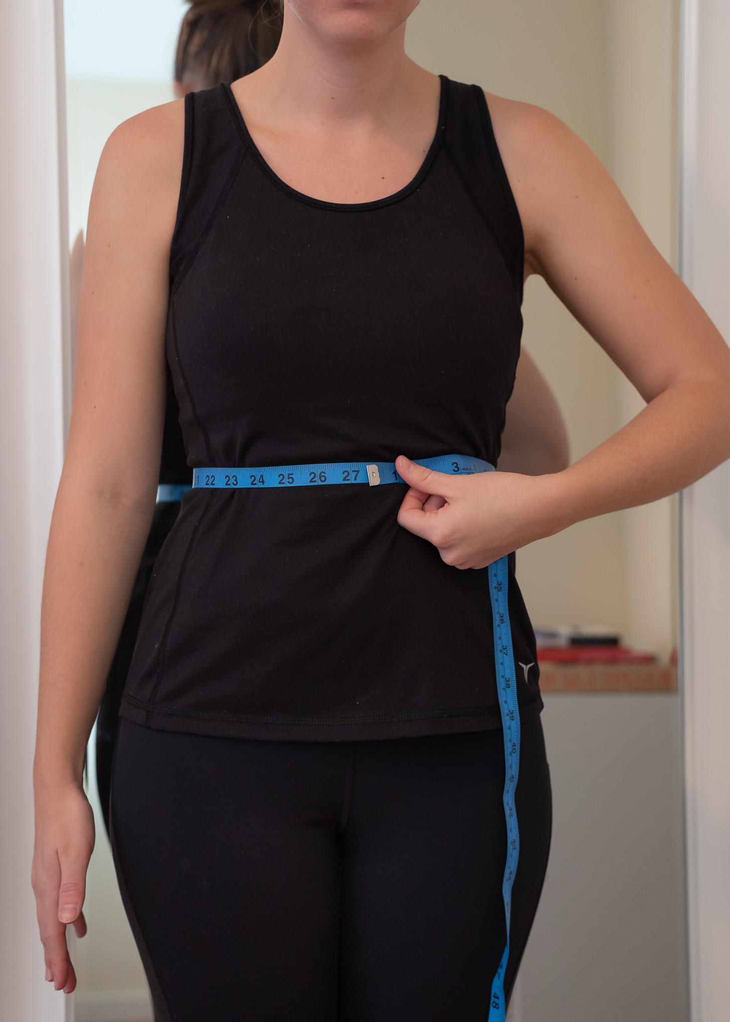 How to take your natural waist measurement for clothing