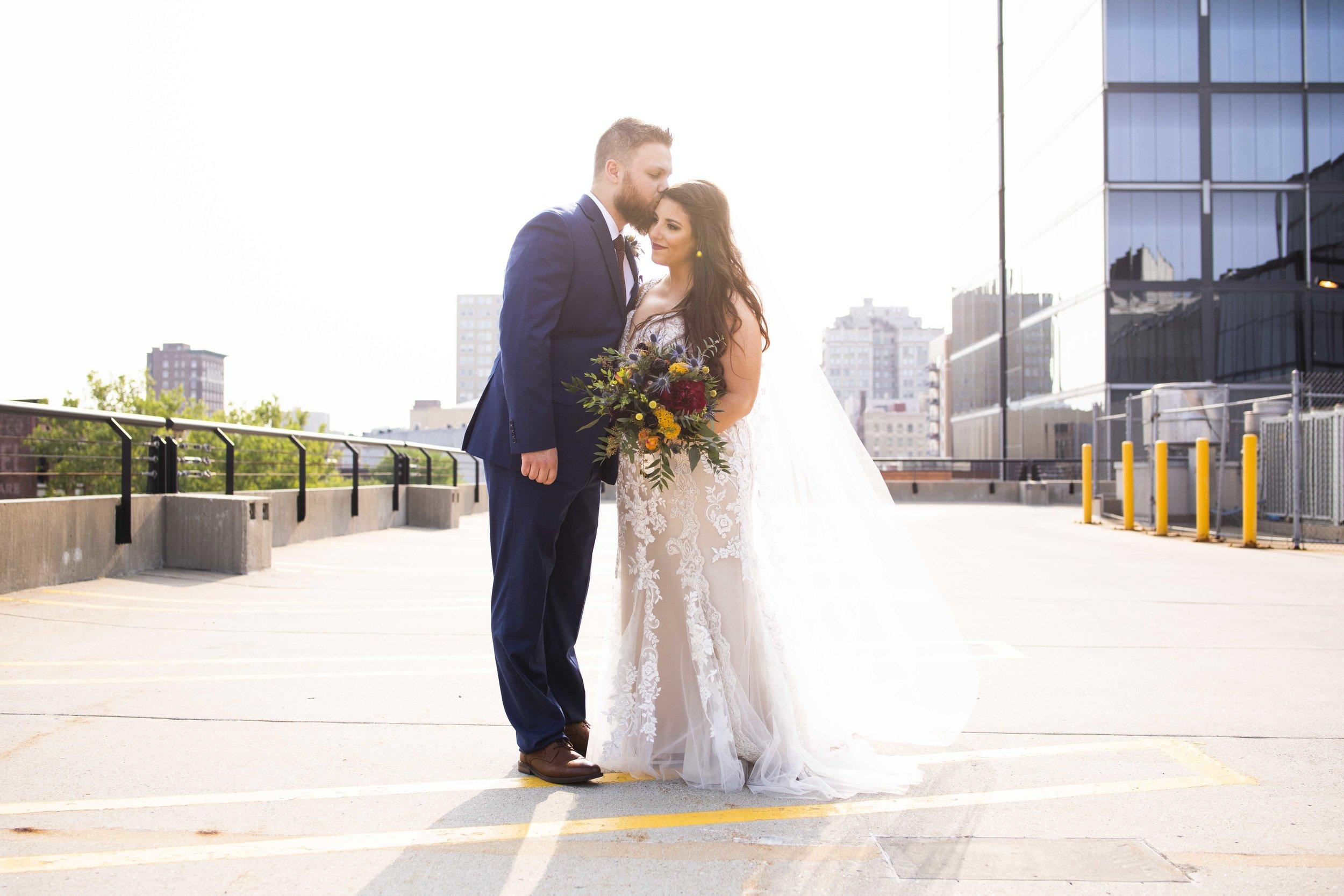 2 OMAHA-rooftop-=wedding-couple-nebraska-elopement-photography.jpg