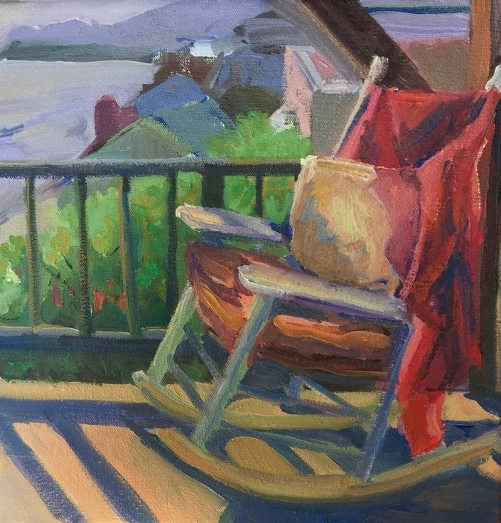 """Rocking Laguna""; 12x12"" Plein Air Sketch, Sold"