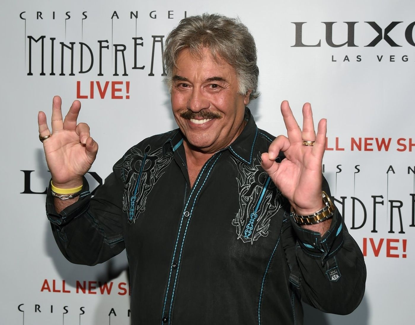 Tony Orlando before he was maimed by his garage door and could still play the piano.