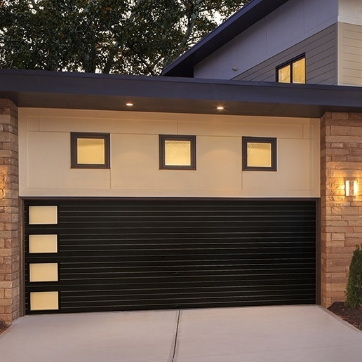 A garage conversion looks just like a regular garage door from the outside. The inside is where the magic happens.
