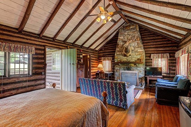 The Playhouse features a Main and Junior suite, situated perfectly between the Main Cabin and @grassycreekwinery Tasting Room. #klondikecabins #northcarolina