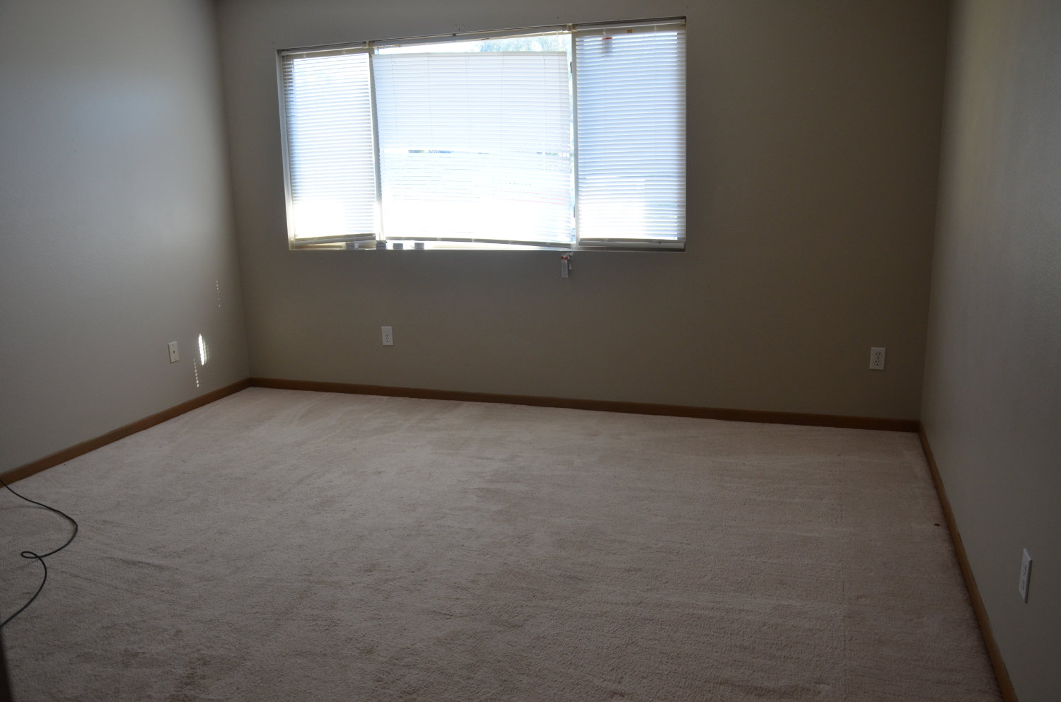 Bare living room