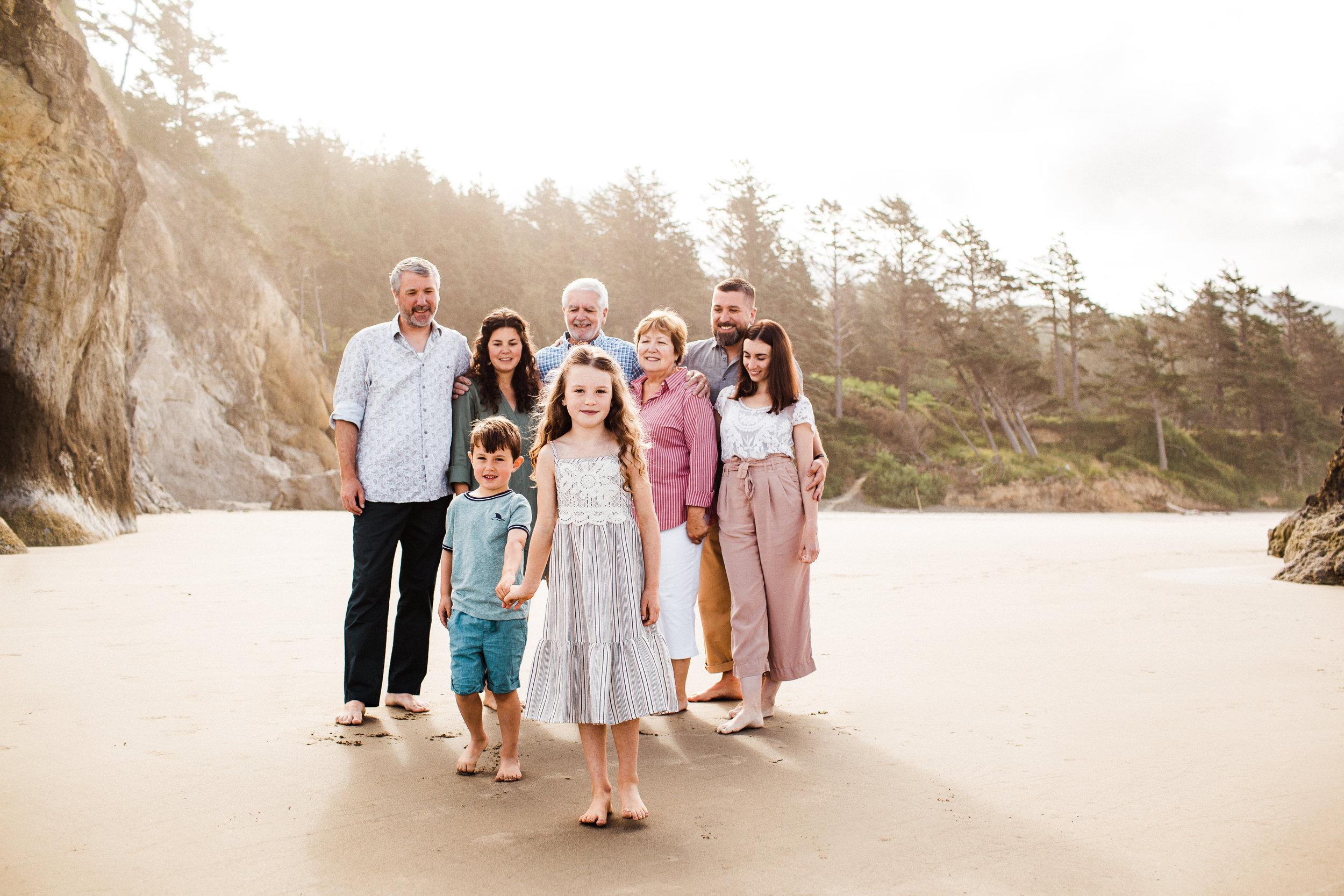 Barrie family - Cannon Beach, OR