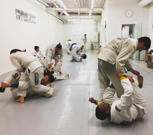 Fundamentals & Advanced Jiu Jitsu Classes