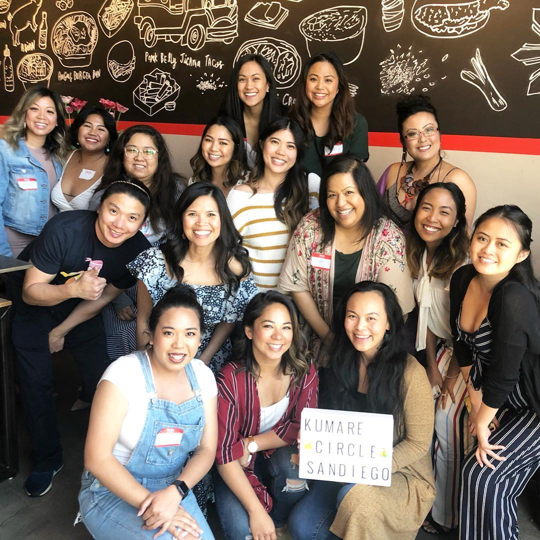SAN DIEGO - KUMARE CIRCLE & BRUNCH HOSTED BY AJJI CALIMAG JOSEPHINE CHOW [SIMON + CLAIRE] AND RACHELLE HARRIS [GOTSWEETZ] 4/13/19