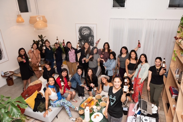 VENICE - KUMARES GET DRINKS HOSTED BY SARA MEREDITH [KAYA ESSENTIALS] WITH DIANA BRIEVA [PALAWENO BREWERY] AND MELANIE FAUNI [SHOP MODERN DAY] 5/30/19