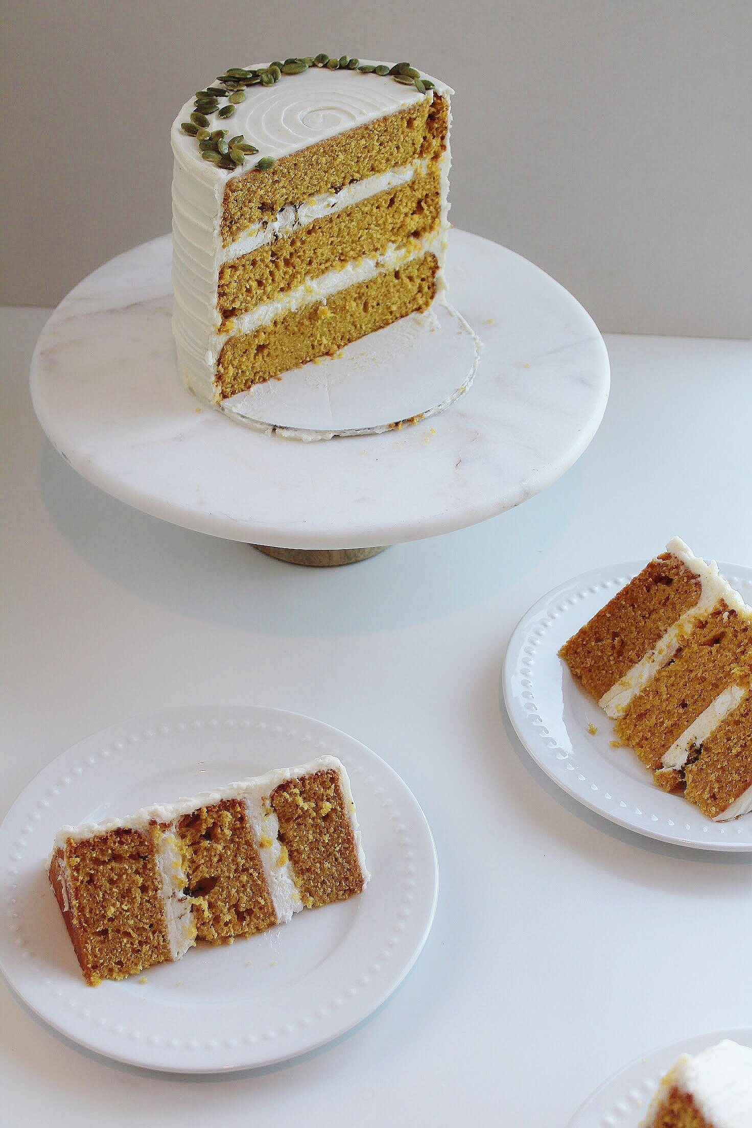 "PUMPKIN ""PIE"" CAKE"
