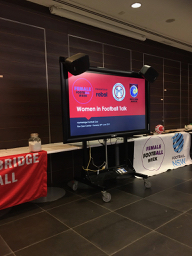 30 May 2019 Women in Football Talk at Ron Dyer Centre, North Sydney