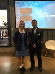 Sophia and Dr Michael Seo