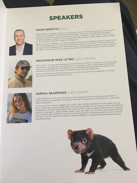 Aussie Ark Gala Dinner Guest Speakers