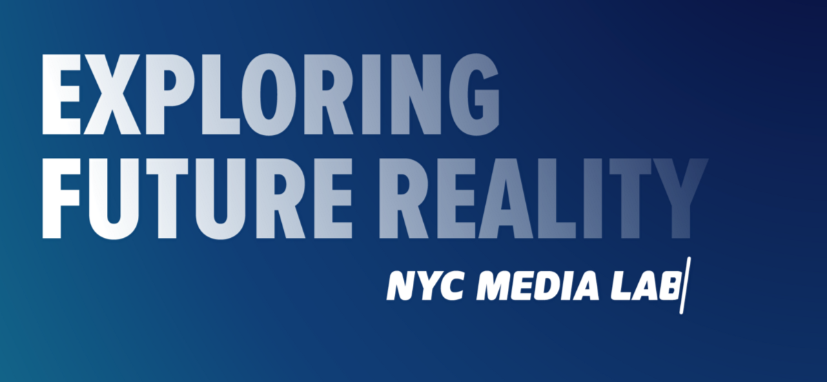 NYC Media Lab: Exploring Future Reality 2018