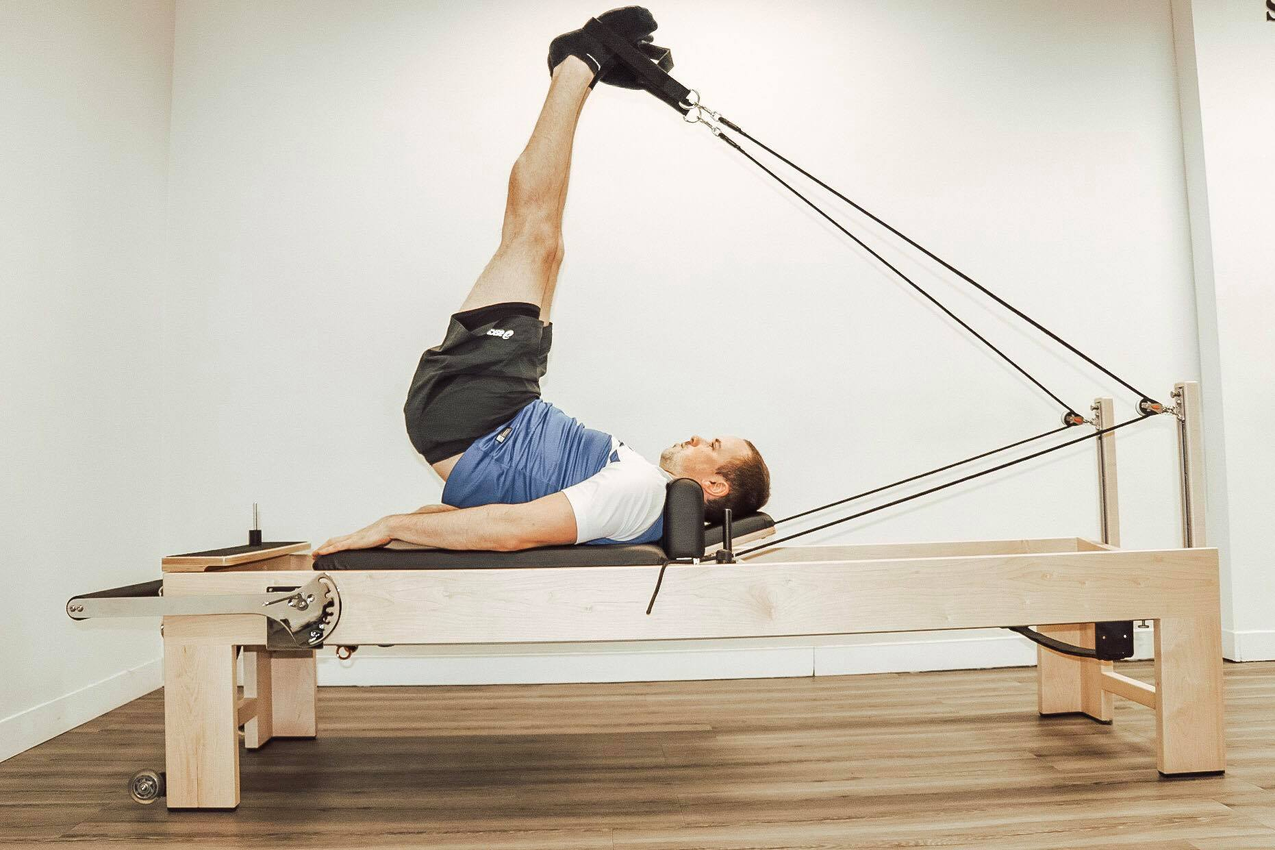 Reformer Pilates workout