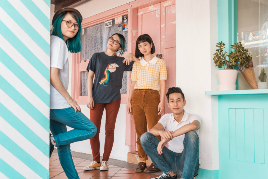 cues has surpassed dozens of other bands to clinch a spot on Baybeats Festival this year (Credit: Syukri / Courtesy of The Esplanade)