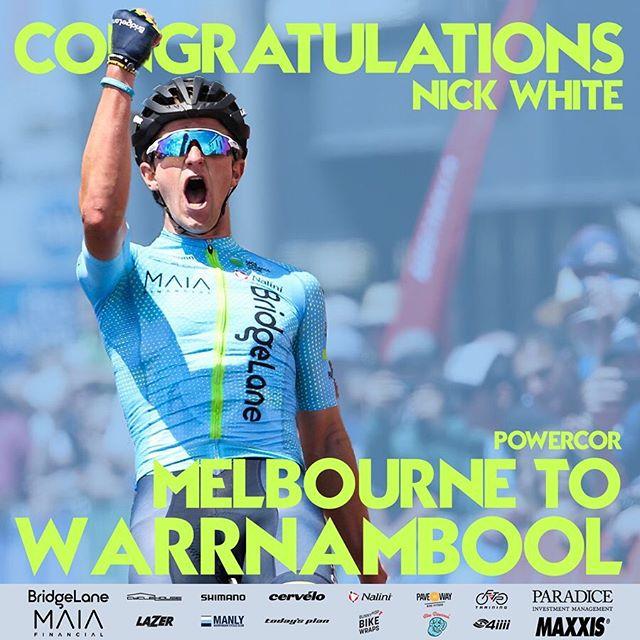 What a start to the 2019 @nationalroadseries. Small recap is live on the website!  #TeamBridgeLane #TeamworkWinsRaces • • • BridgeLane | @bridgelane_group Shimano | @shimanoaustralia Lusty Imports | @wearelusty Maxxis | @maxxisbikeau  Cycle House | @cyclehouseaus Cervelo | @cerveloaus Nalini | @naliniciclo BunnyHop | @bunnyhopcycling Blue Dinosaur | @bluedinosaurbars Pave the Way | @pavethewaybikefitters Today's Plan | @whatstodaysplan FTP training | @ftp_training Lazer Helmets | @lazersportau  Manly Warringah CC | @mwcycleclub 4iiii | @4iiiicom 📷: @chronis71