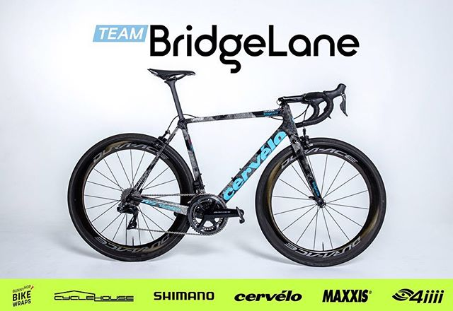 The shot you've all been waiting for; our bikes for the 2019 season! We're extremely grateful to have such amazing partners that have helped us achieve one of the nicest bikes in the peloton. You can also head over to @bunnyhopcycling to pick up the vinyl wrap set for the Team BridgeLane look or check out their custom range.  #TeamBridgeLane #TeamworkWinsRaces • • • BridgeLane | @bridgelane_group Shimano | @shimanoaustralia Lusty Imports | @wearelusty Maxxis | @maxxisbikeau  Cycle House | @cyclehouseaus Cervelo | @cerveloaus Nalini | @naliniciclo BunnyHop | @bunnyhopcycling Blue Dinosaur | @bluedinosaurbars Pave the Way | @pavethewaybikefitters Today's Plan | @whatstodaysplan FTP training | @ftp_training Lazer Helmets | @lazersportau  Manly Warringah CC | @mwcycleclub 4iiii | @4iiiicom