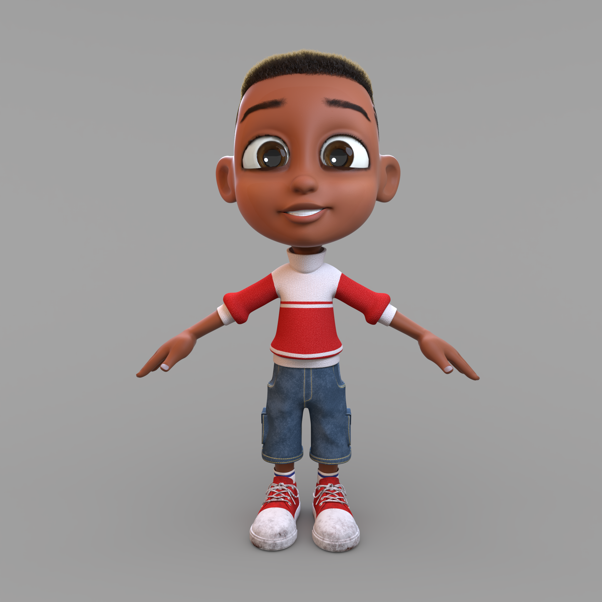 Habib - Age: 8Origin: Born in Ibadan in Rosemary's orphanage.Traits: Intelligent, Adventurous, Agreeable.Likes: Jollof RiceFunke's best friend.