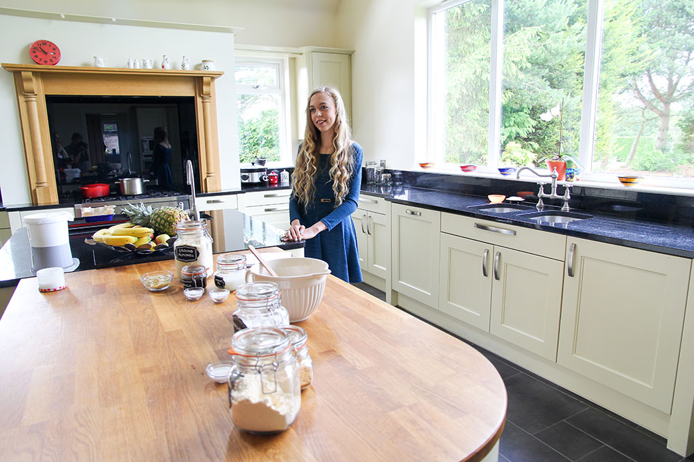 Alessandra, 15 years old   Nutritional Blogger, The Foodie Teen: Alessandra founded her blog to share Paleo recipes with other allergy sufferers globally having found it difficult to find recipes for herself.