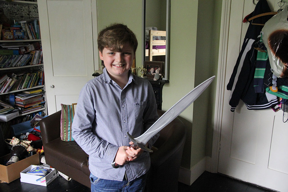 Henry, 10 years old   Entrepreneur & Author, Not Before Tea: Henry has been creating a broad range of branded merchandise from home.