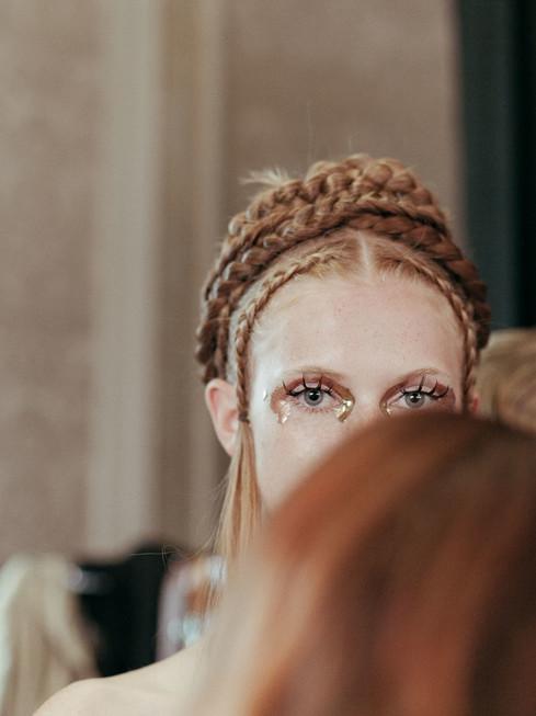 Emelie Janrell SS18  Key makeupartist Ignacio Alonso
