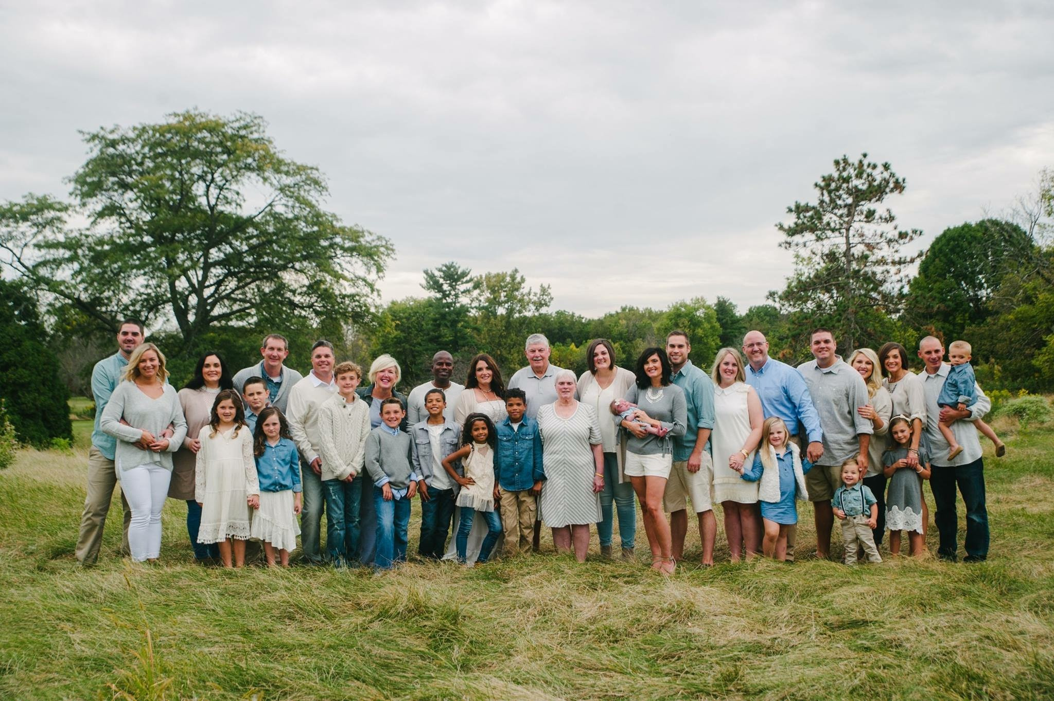 The Hogan Family, a proud Peoria family. My wife is the 2nd oldest of nine kids.