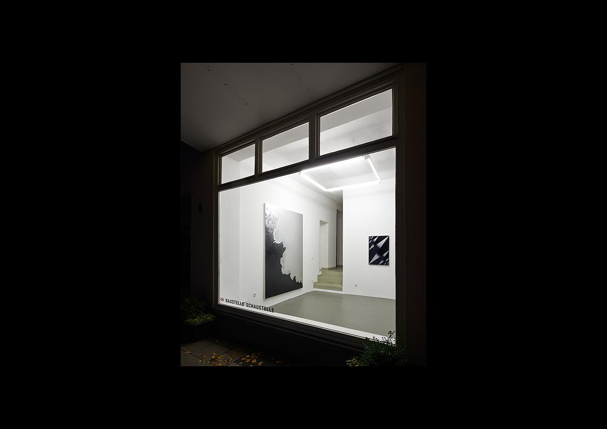 Schrei der Stille, 2014  Ausstellungsansicht Baustelle Schaustelle, Essen