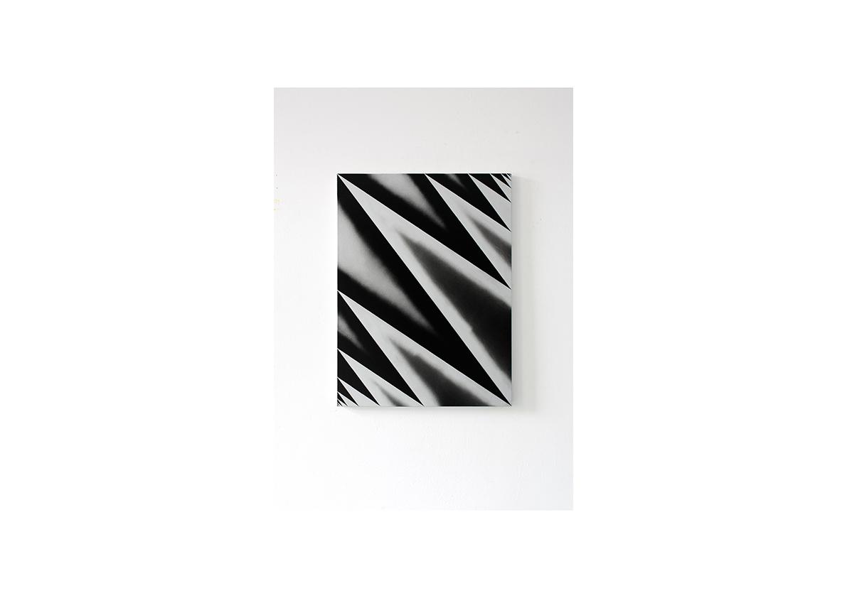 Combate, 2012    Acryl auf Baumwollstoff 80 x 60 cm