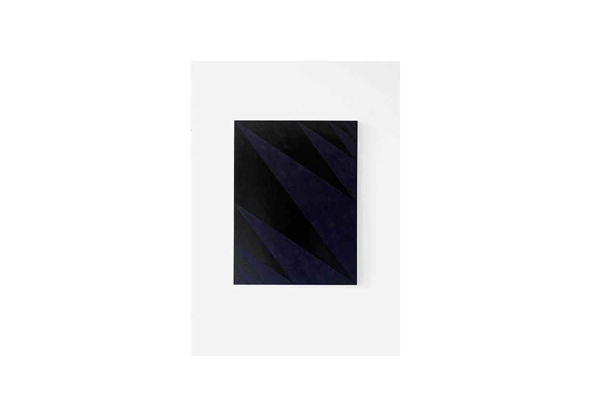 Konfrontation IV, 2012    Acryl auf Baumwollstoff 80 x 60 cm