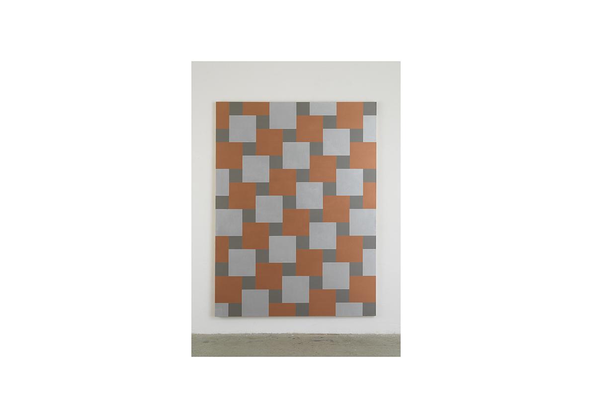 Cool Money, 2006    Lack auf Baumwollstoff 240 x 180 cm