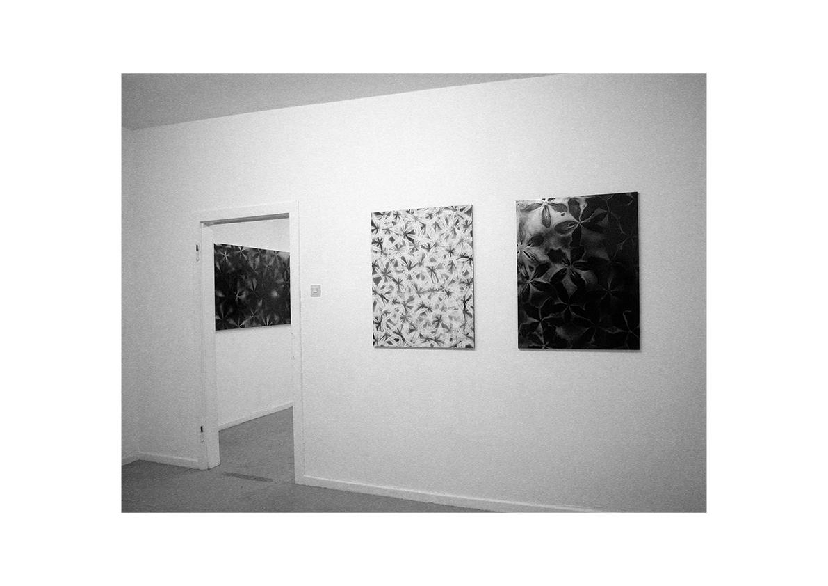 Mädchen auf der Flucht, Ausstellungsansicht Düsseldorf 2004