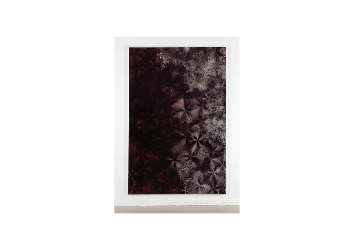 Dalol, 2004    Lackspray auf Baumwollstoff 295 x 195 cm