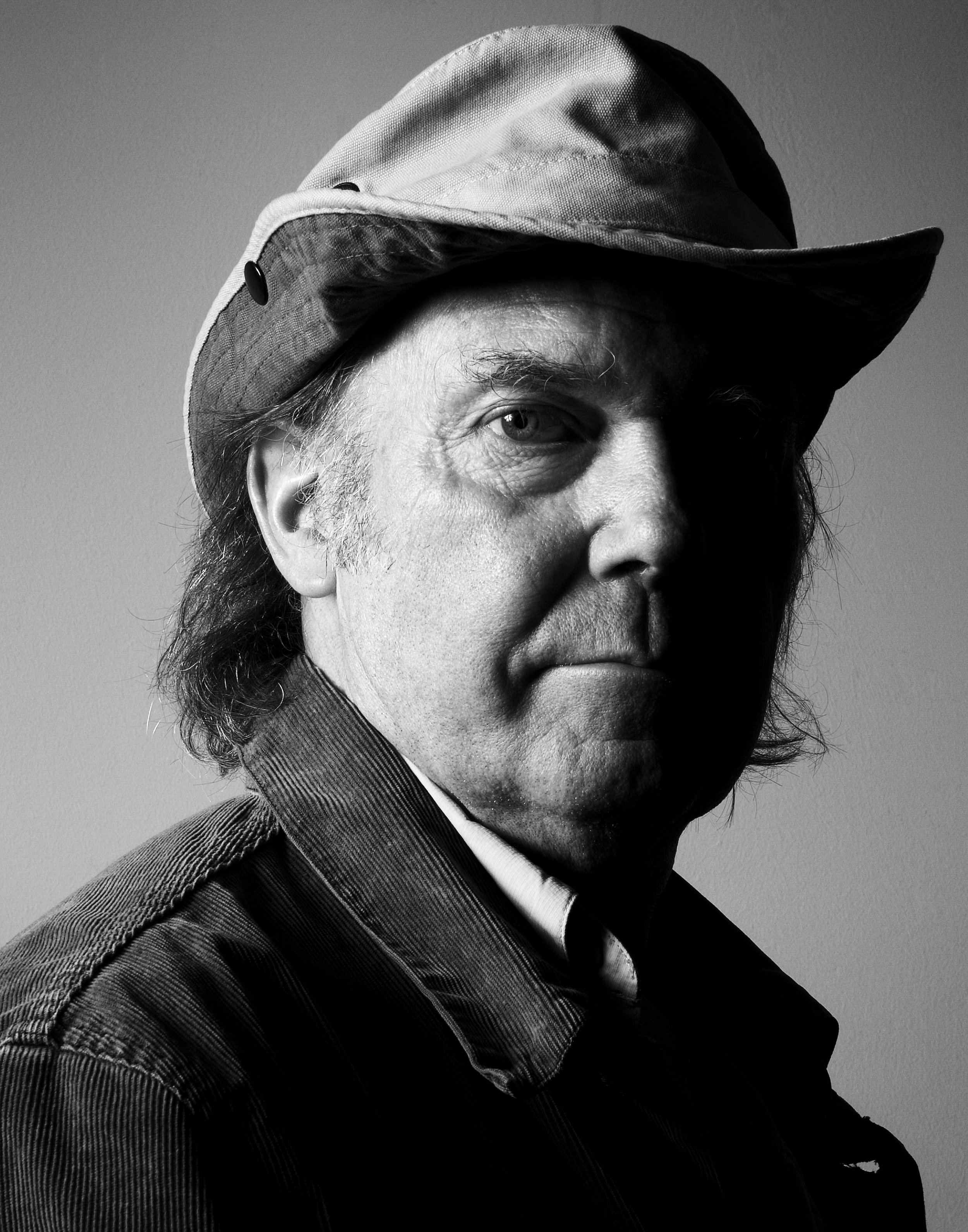 Neil Young, San Francisco, 2005.